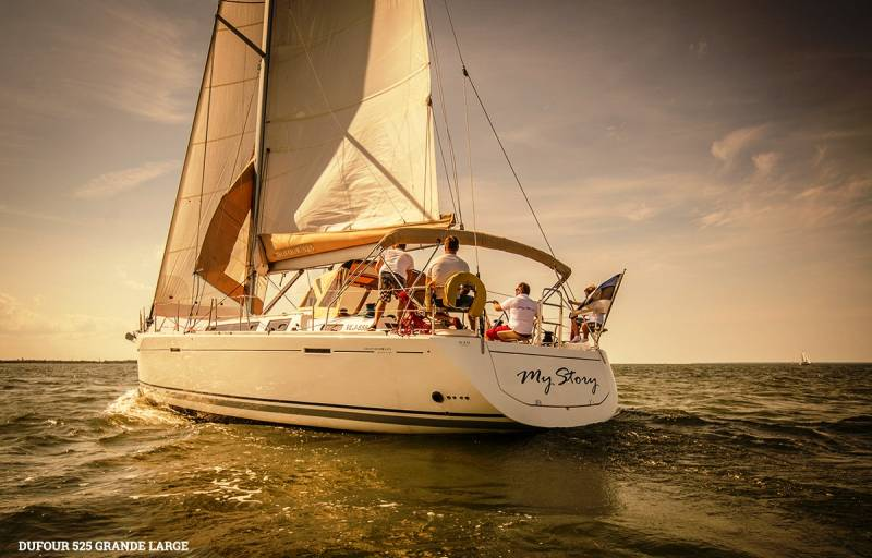 Yachts for Sale : Dufour, 525 Grand Large