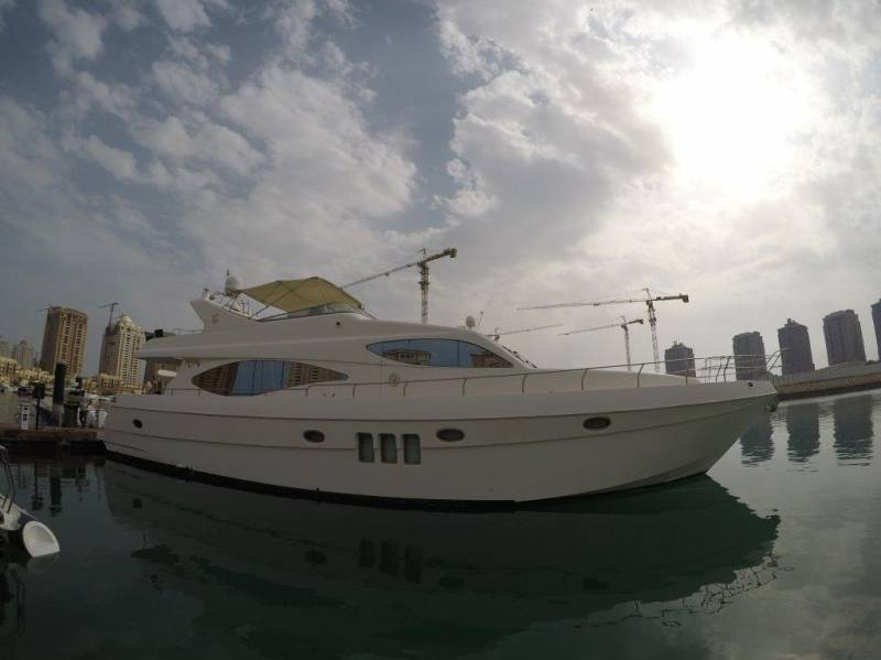 Yachts for Sale : Gulf Craft, Fly-bridge 75