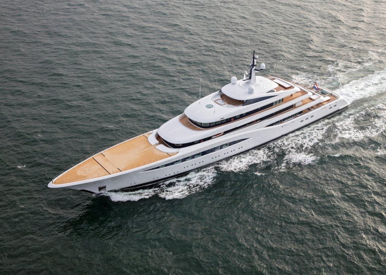 Feadship Superyacht Vertigo Launch