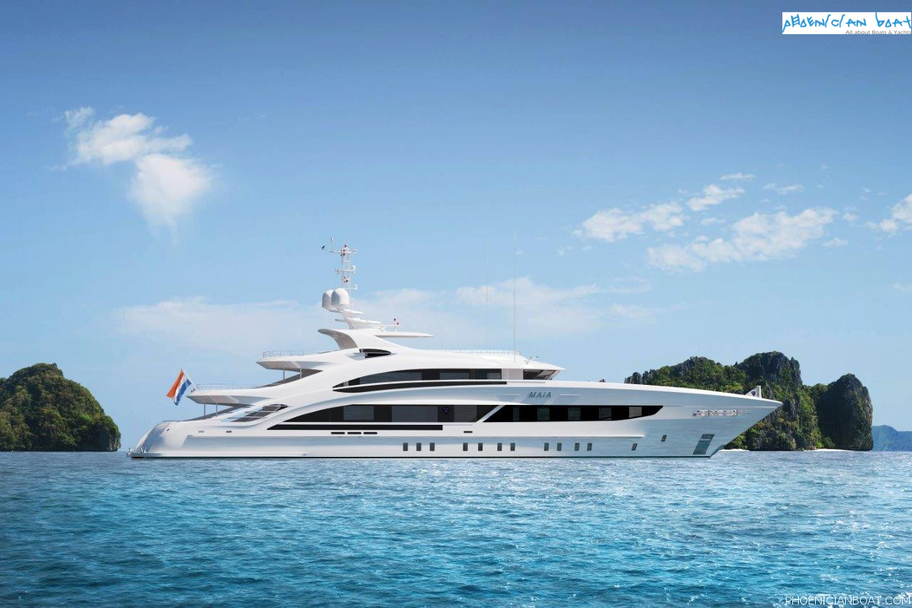 Heesen Yachts - Project Maia 50M