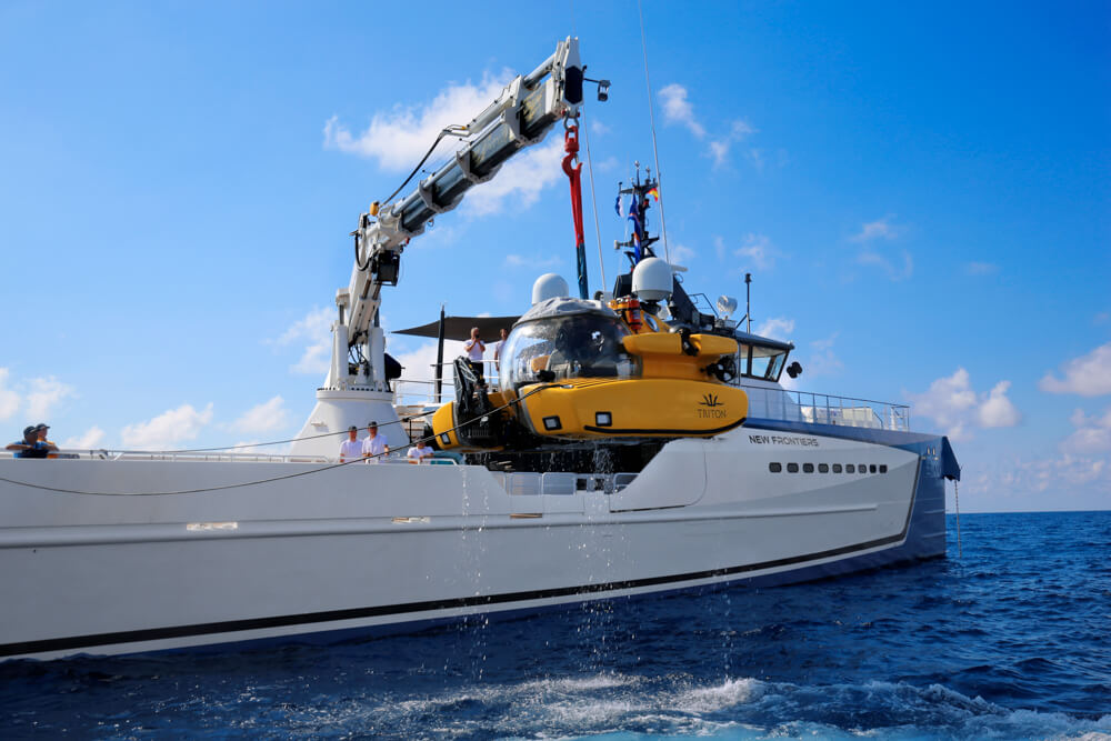 DAMEN Yacht Support Adventure Vessel NEW FRONTIERS Sold