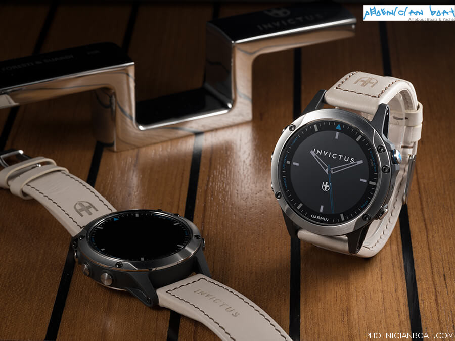 The New Nautical Smartwatch Quatix 5 by Invictus Yacht and Garmin Marine