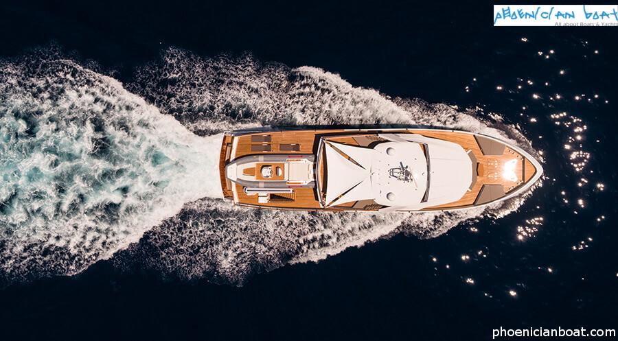 Numarine Superyacht 32xp Marla - Drone View