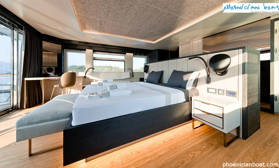 Numarine Superyacht 32xp Marla - Owner Cabin