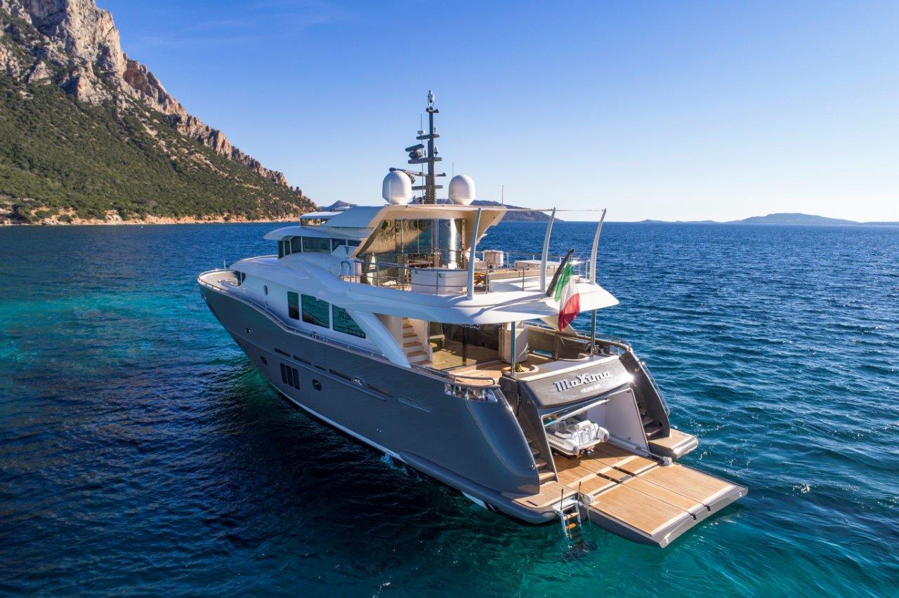 Filippetti Yacht N26 Maxima - AFT View