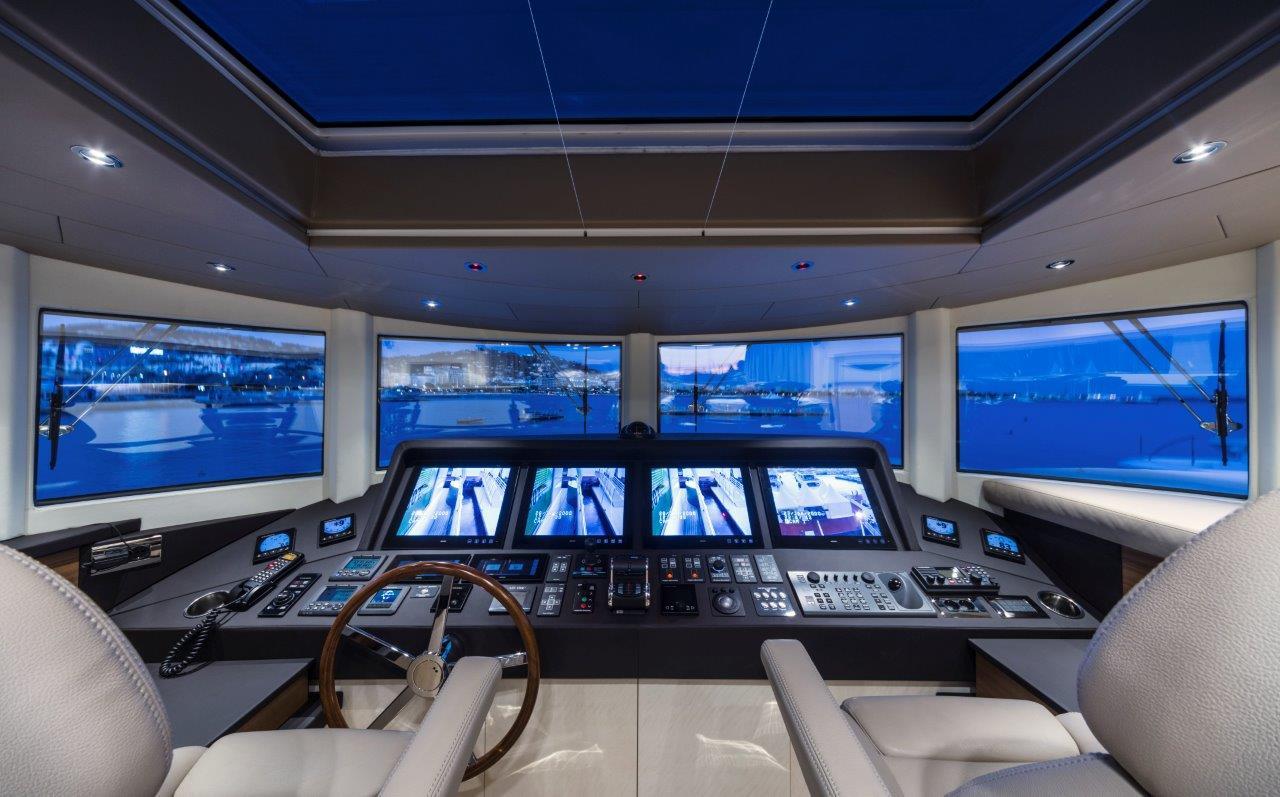 Filippetti Yacht N26 Maxima - Cockpit