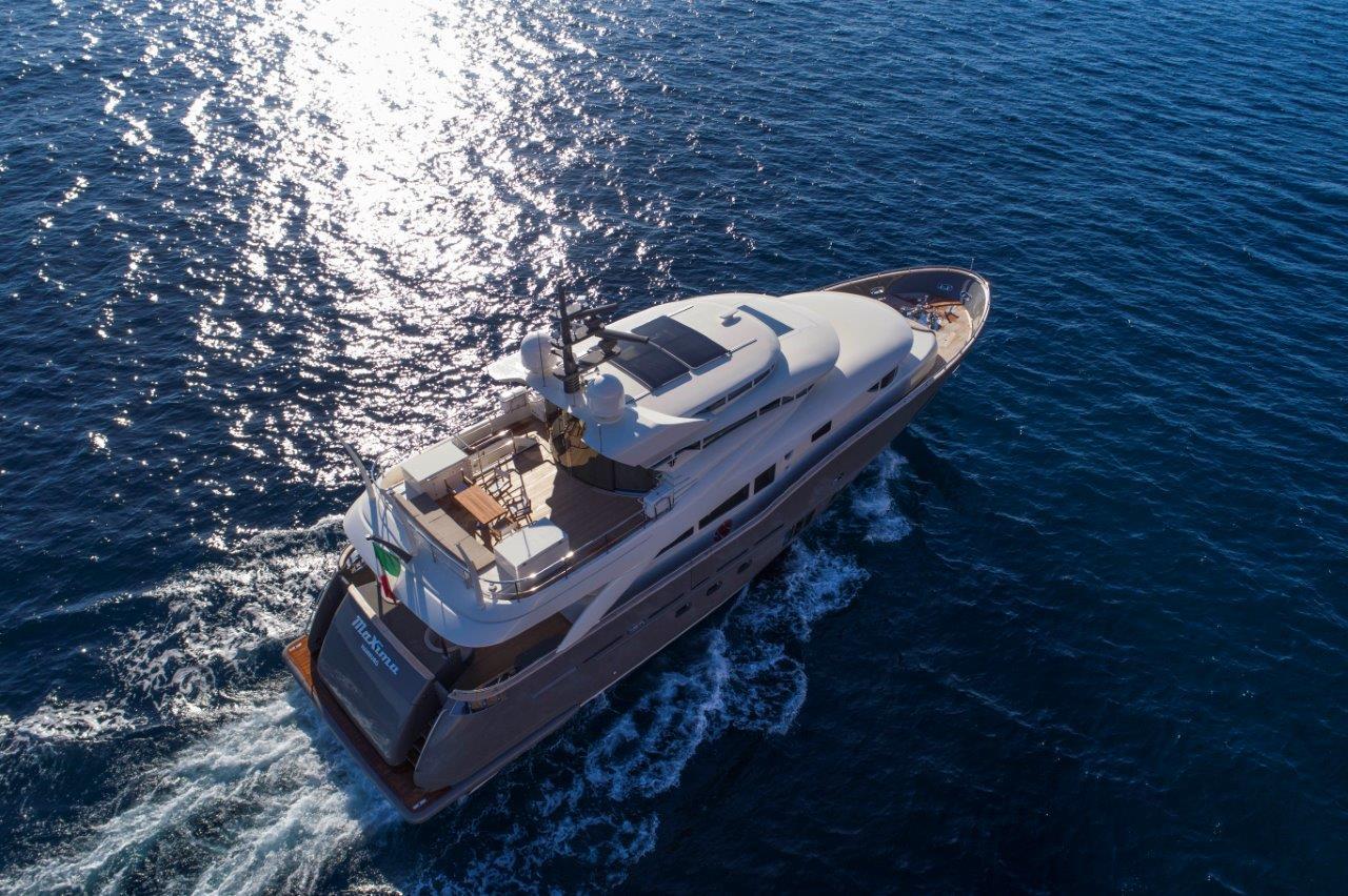 Filippetti Yacht N26 Maxima - Drone View