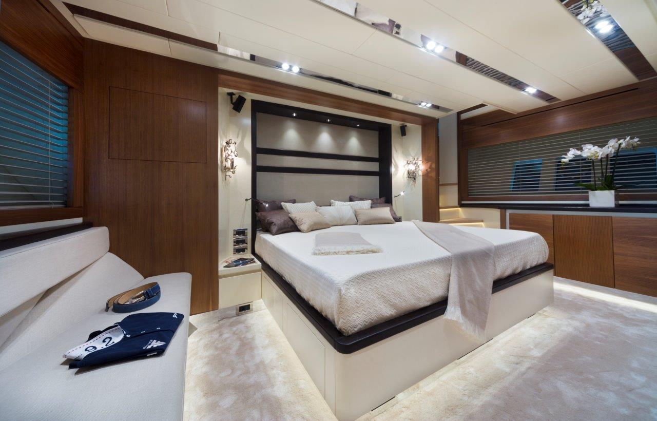 Filippetti Yacht N26 Maxima - Owner Cabin