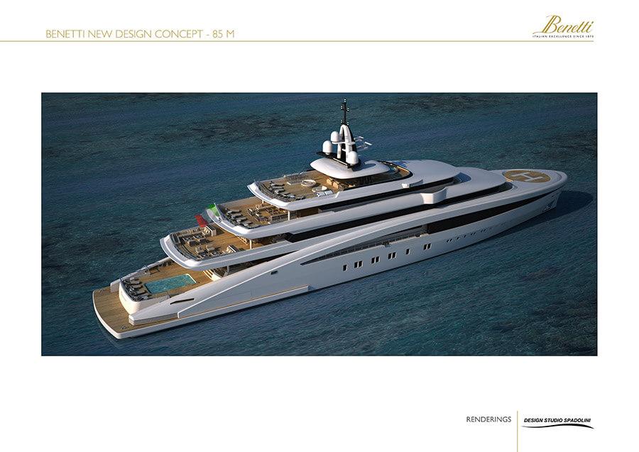 Benetti 85  Yacht