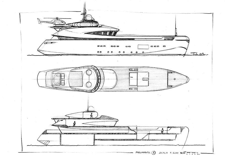 Tommaso Spadolini Sketch