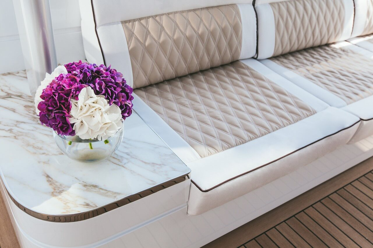 Phoenician Boat - Dynamiq Yacht with Magma Marble