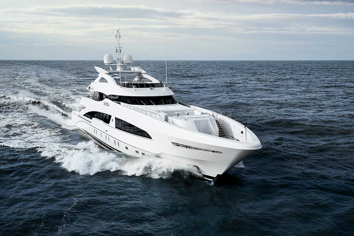 Heesen Yacht YN18050 VanTom Sea Trial