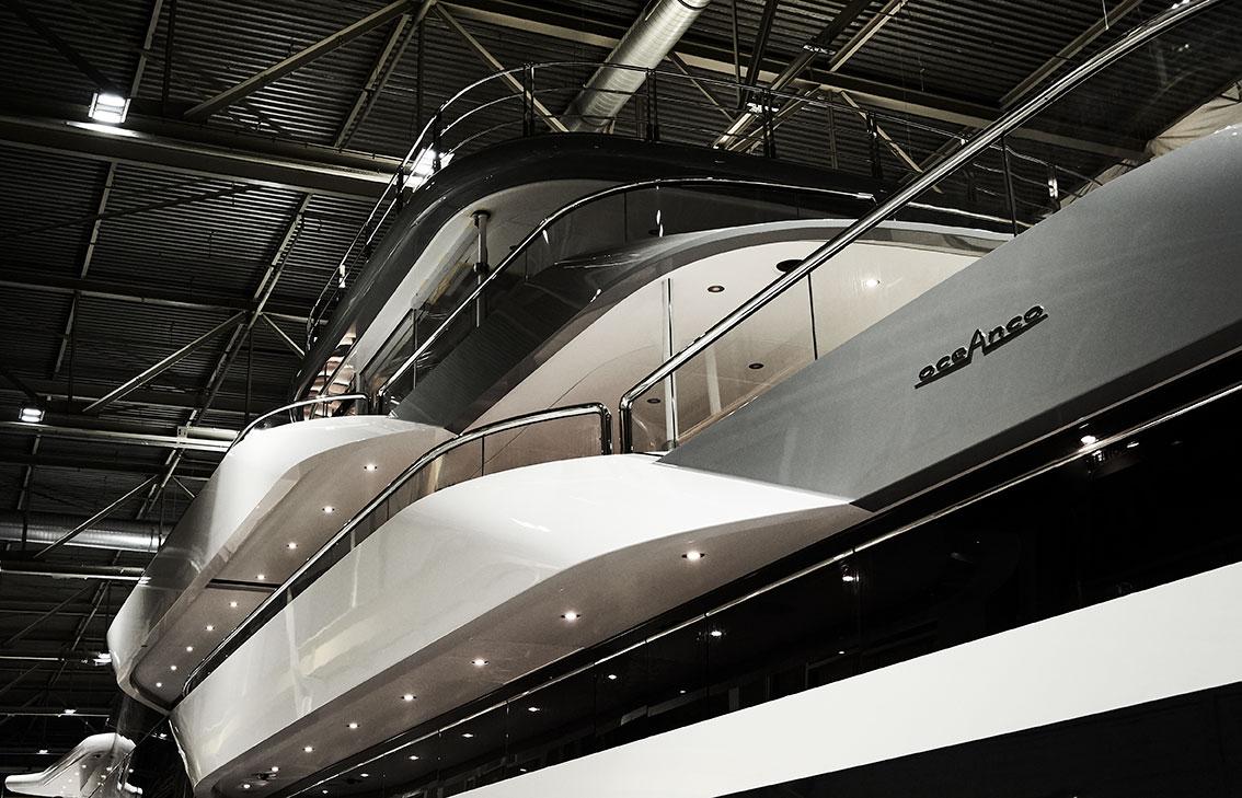 Oceanco Launch Project Shark New Superyacht 90 Meter