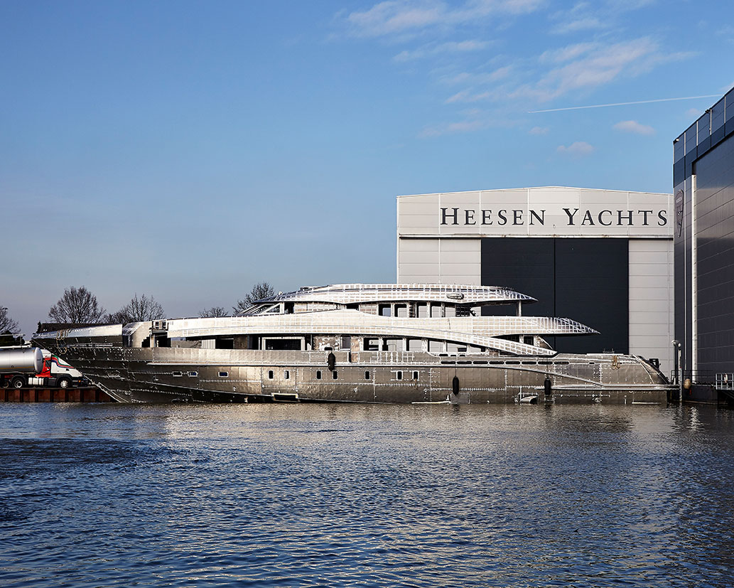 Heesen Yachts Project Aster HY18750