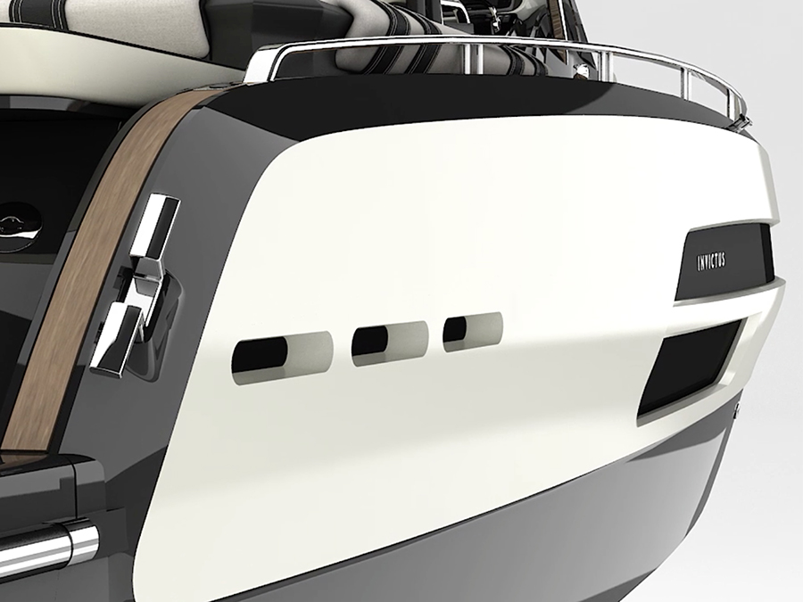 Invictus Yacht and Anna Fendi team up for a special edition yacht