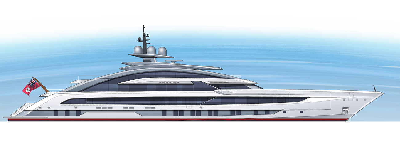 Heesen Yachts Project Cosmos YN19480