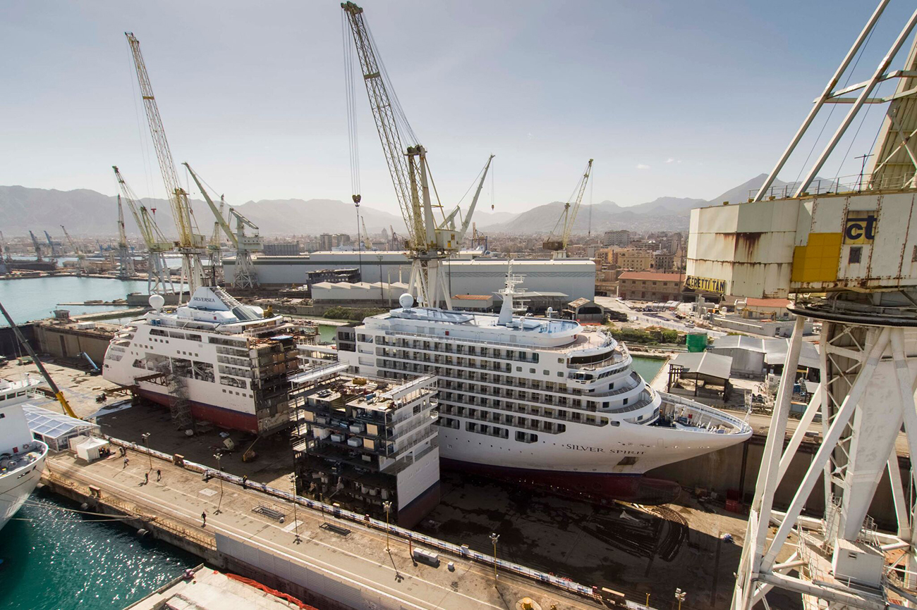 Fincantieri Silver Spirit Cruise Ship