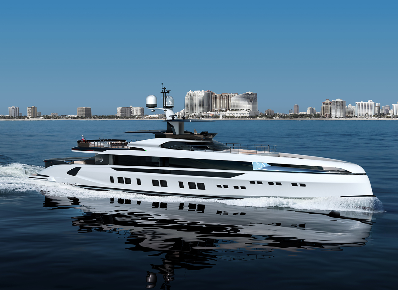 The all new Dynamiq Yacht GTT 165