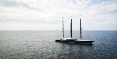 Oceanco Yacht - Black Pearl The Largest Dynarig Sailing Yacht in the World