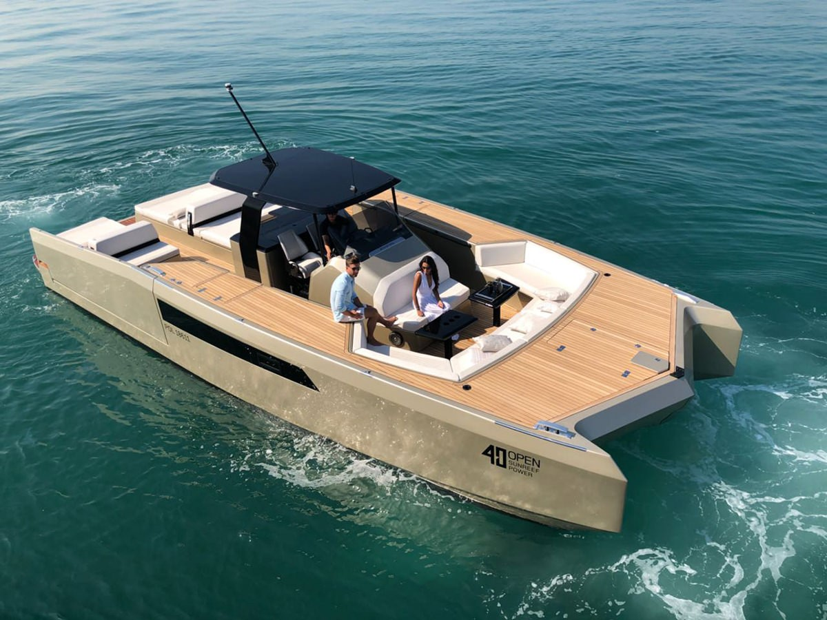 Sunreef Boat - 40 ft. Open