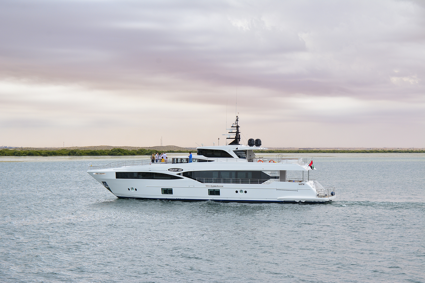 Gulf Craft Delivers Majesty 100 M/Y Oneworld for Australia