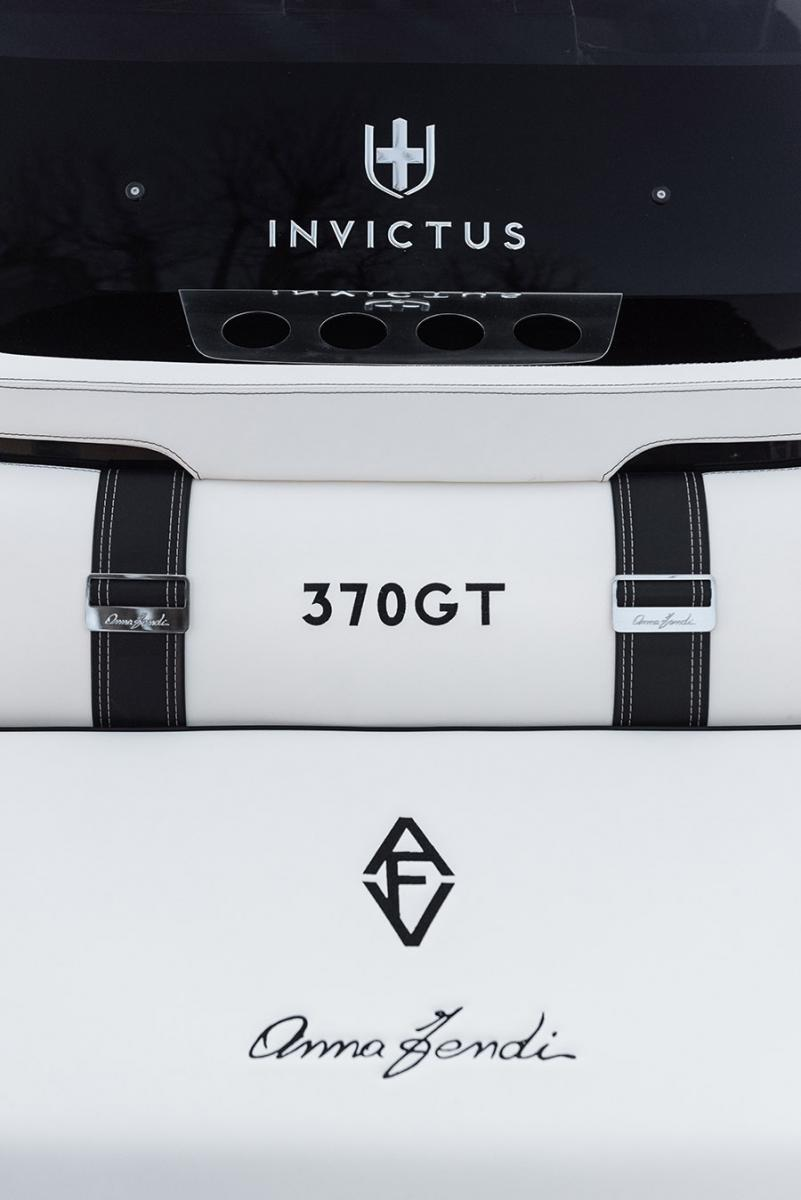 New Invictus 370 GT Special Edition with interior design by Anna Fendi revealed