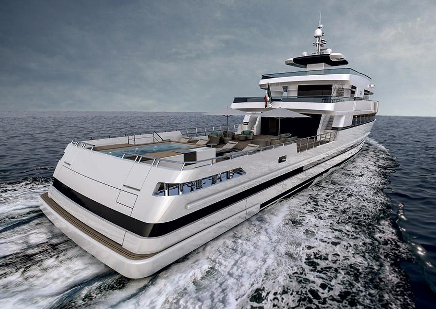 Rosetti Superyacht 48 Spadolini - AFT View