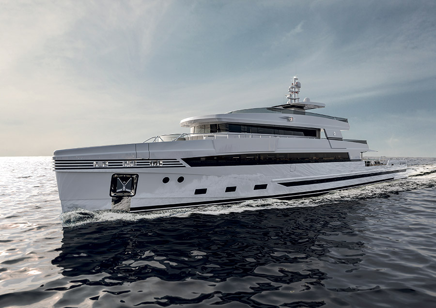 Rosetti Superyacht 48 Spadolini - Bow View