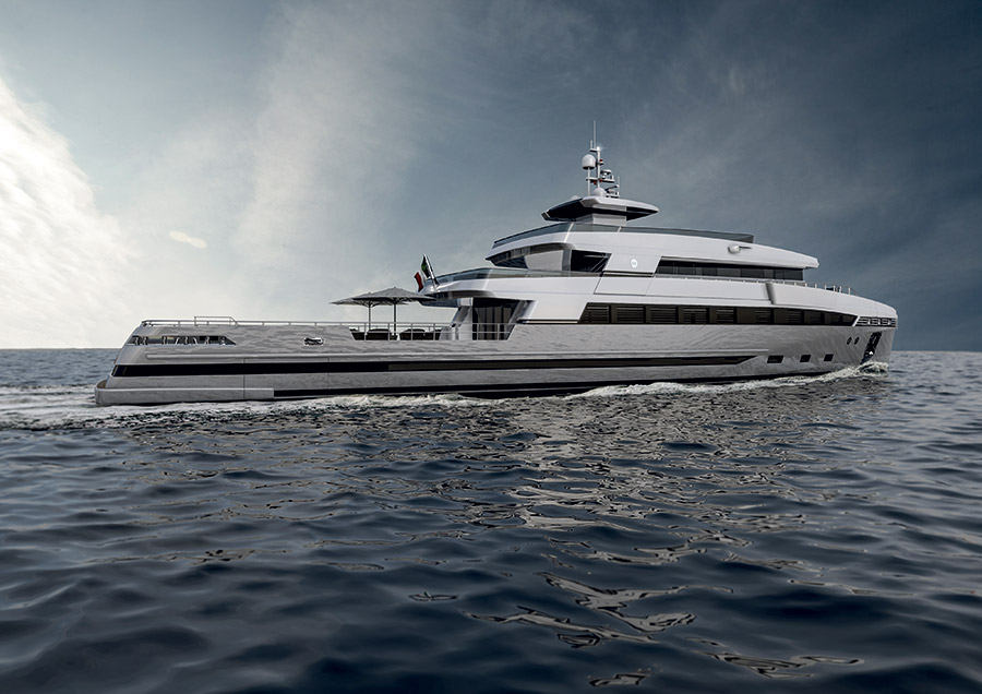 Rosetti Superyacht 48 Spadolini - Side View