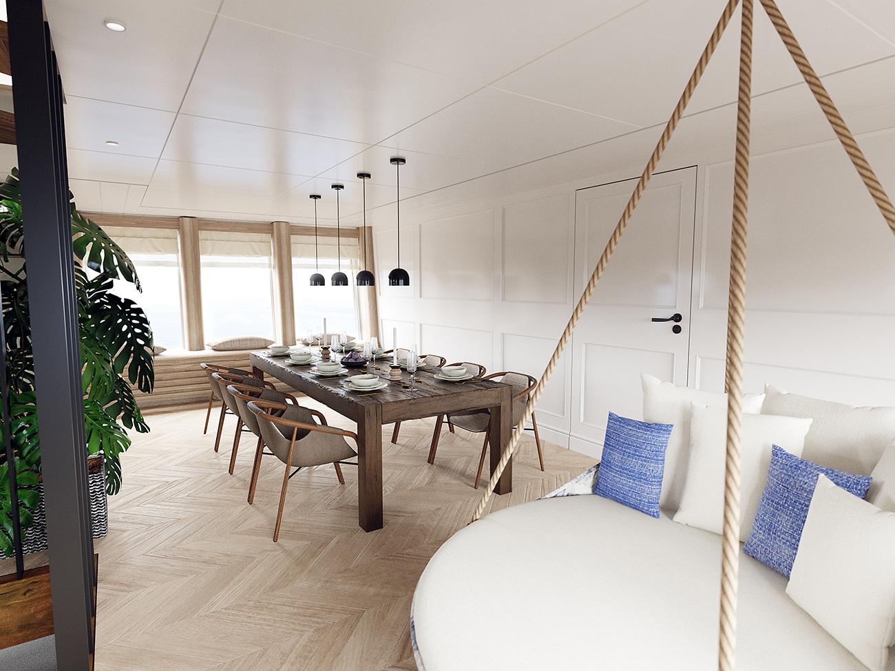 Vripack Yacht M5 - Interior