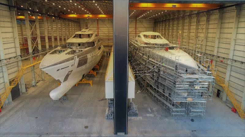 Bilgin Superyacht 263 - Under Construction