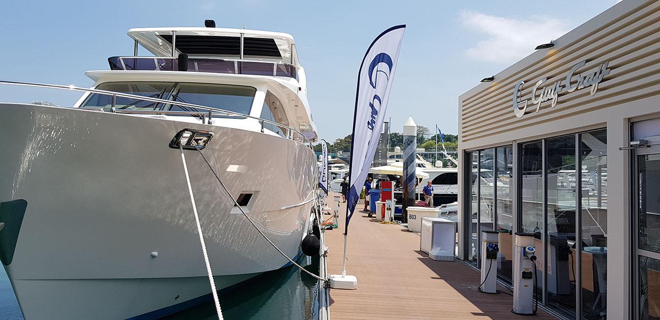 Gulf Craft at Singapore Yacht Show