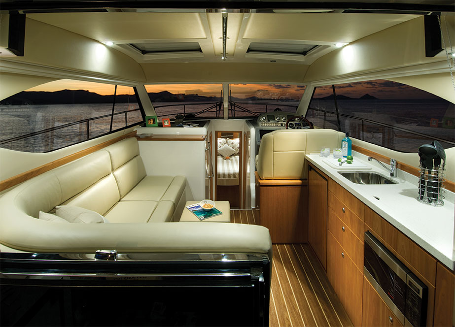 Riviera 3600 Sport Yacht IPS Saloon