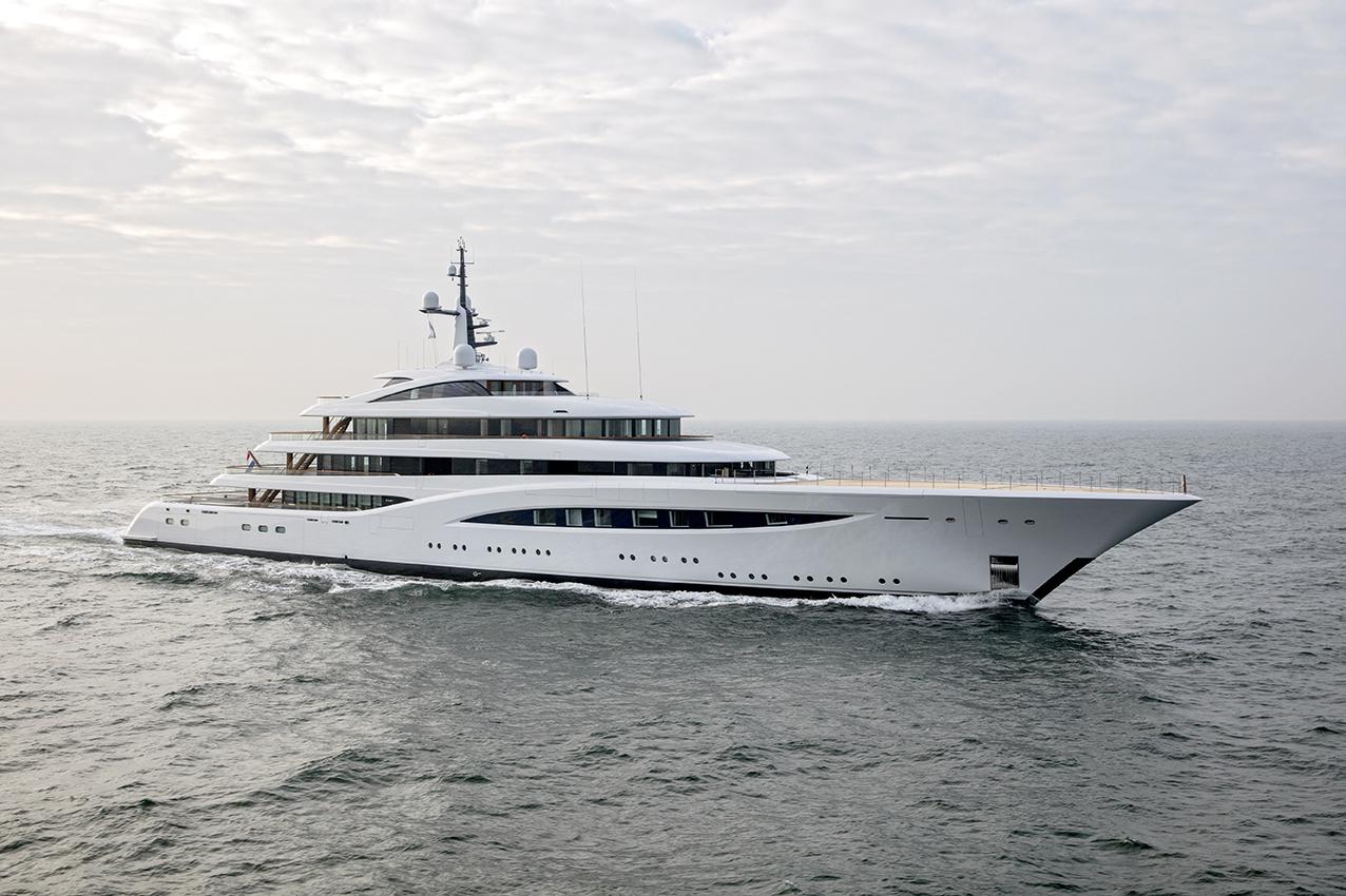 Feadship Yacht Faith - Refit