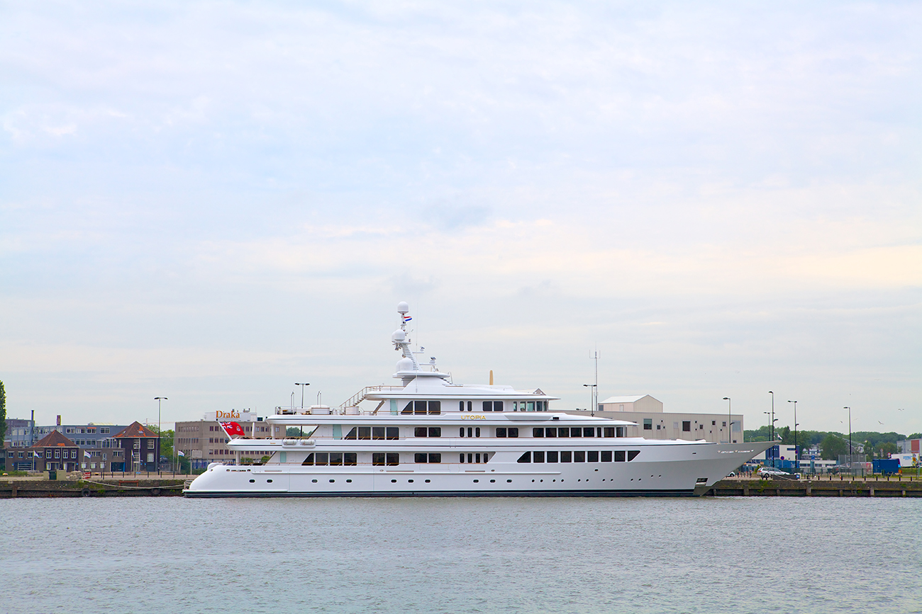 Feadship Yacht Utopia - Refit