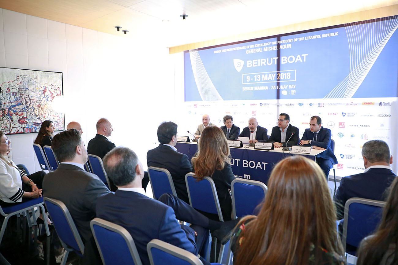 Beirut Boat Press Conference
