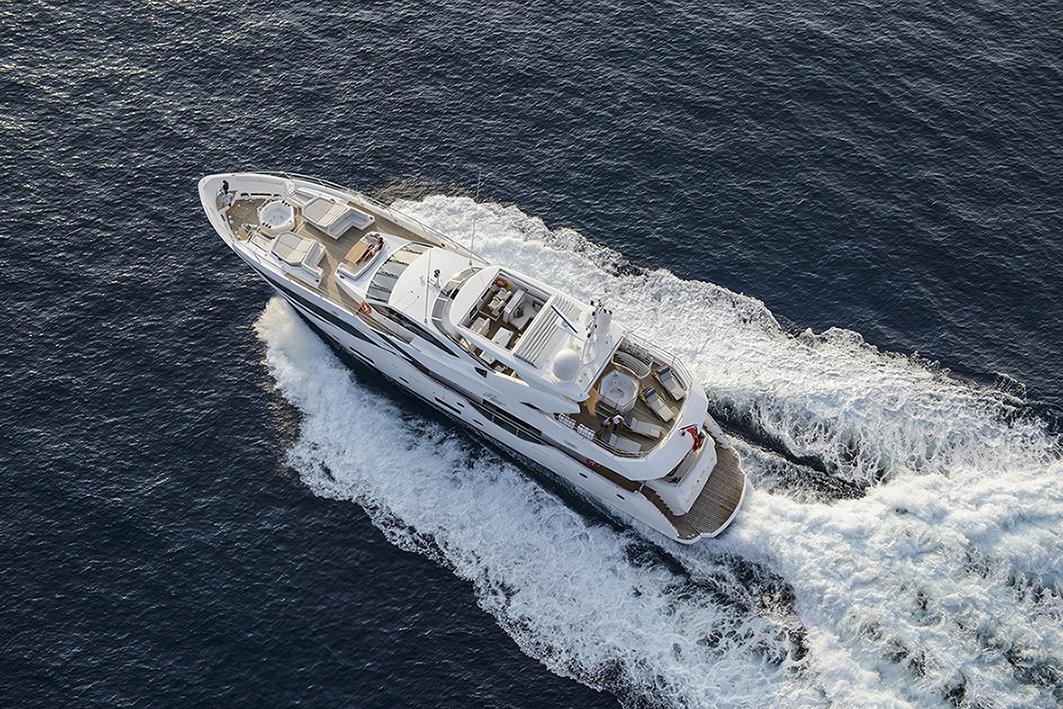 Sunseeker Yacht 116