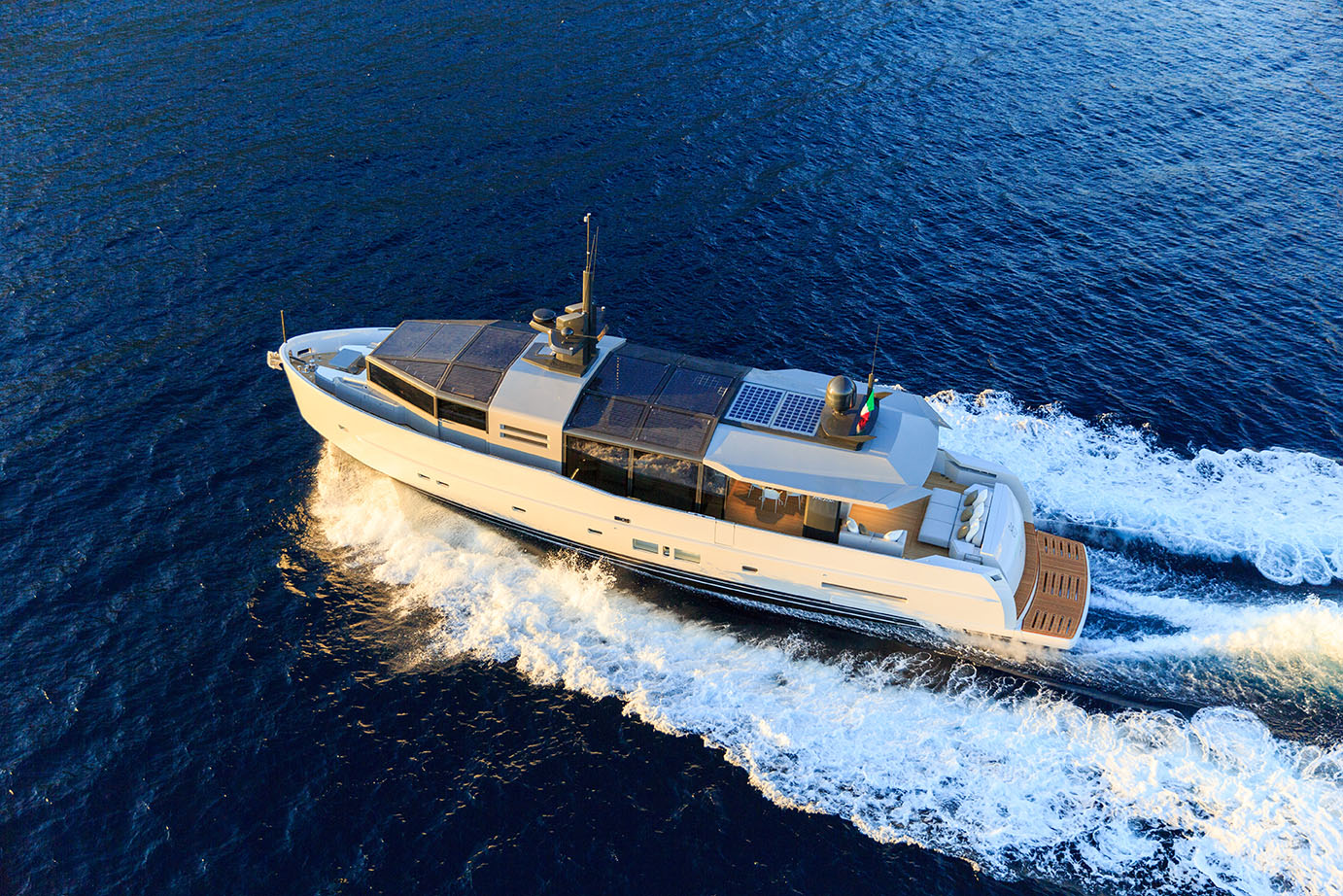Arcadia Yachts A85 - Drone View