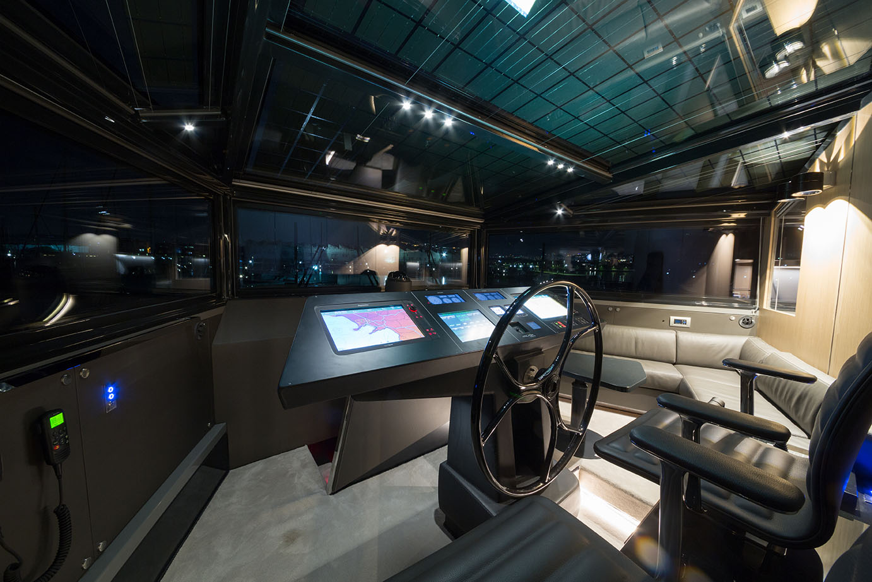 Arcadia Yachts A85 - Cockpit