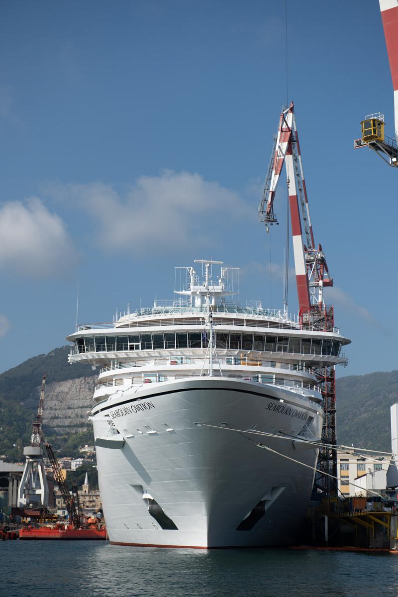 Fincantieri - Seabourn Ovation Luxury Cruise Ship