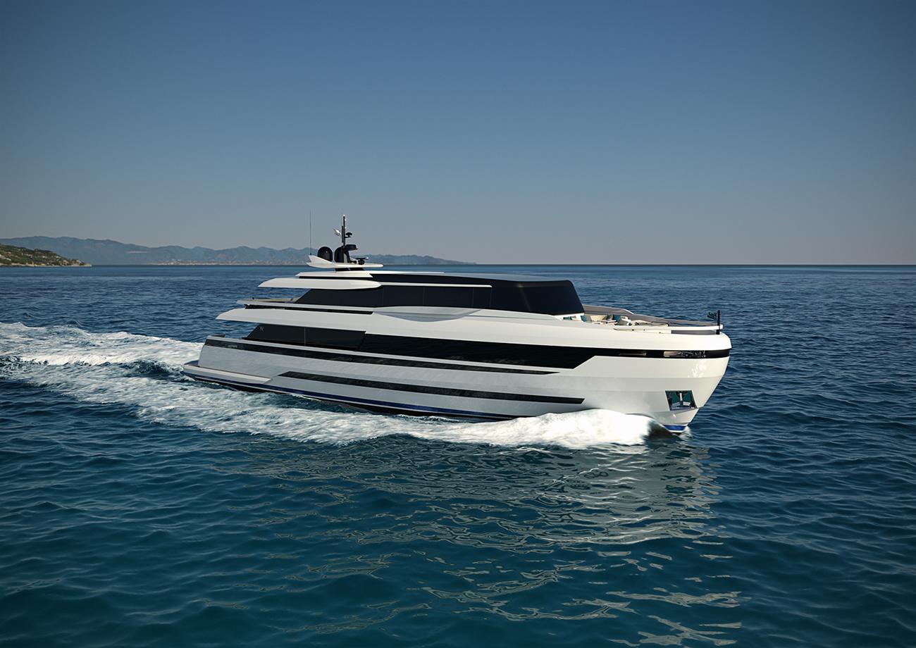 ISA Yachts - Extra 126 ft.