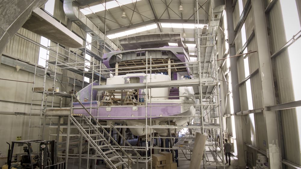 AVA Yachts Kando 110 - Under Construction