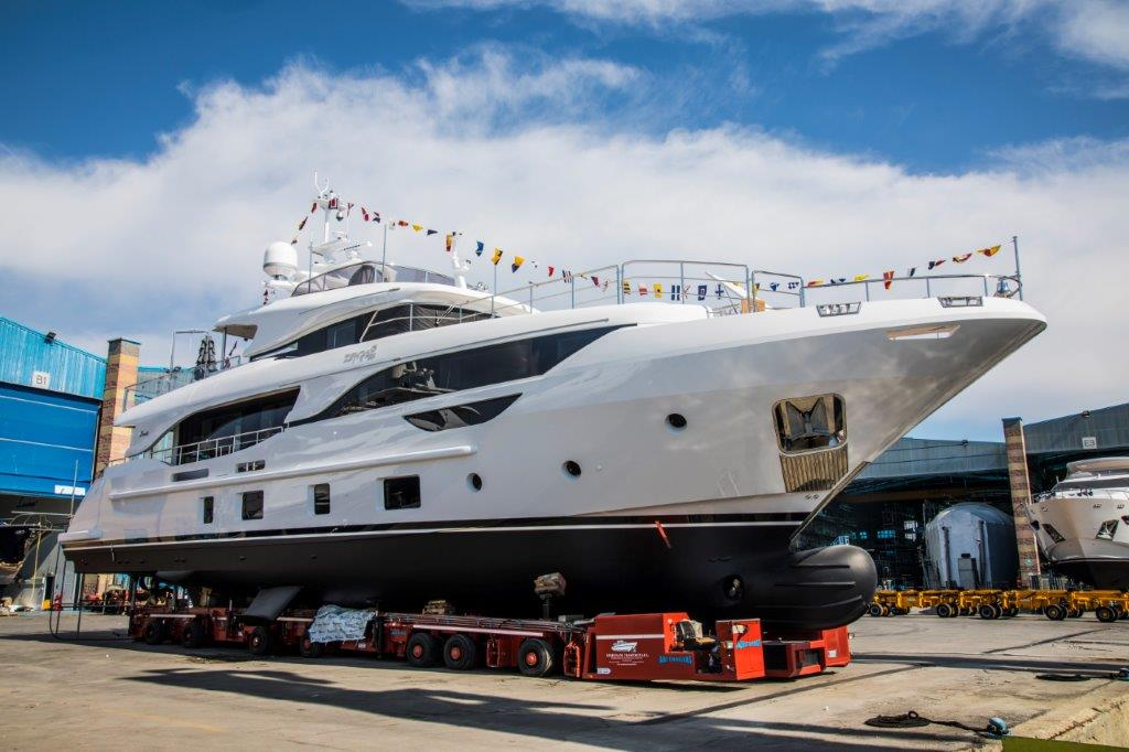 Benetti launches third Delfino 95'