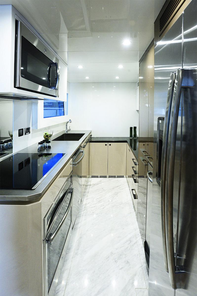 Johnson Yachts 93 - Galley
