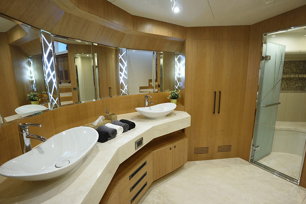 Johnson Yachts 93 - Master Head with Shower