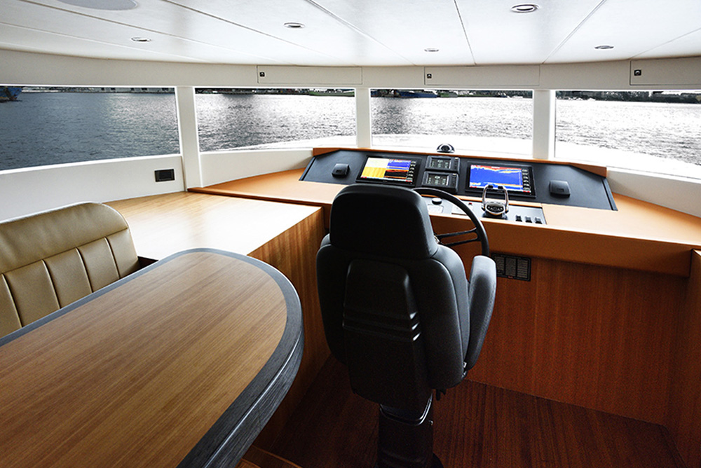 Johnson Yachts 93 - Pilot House