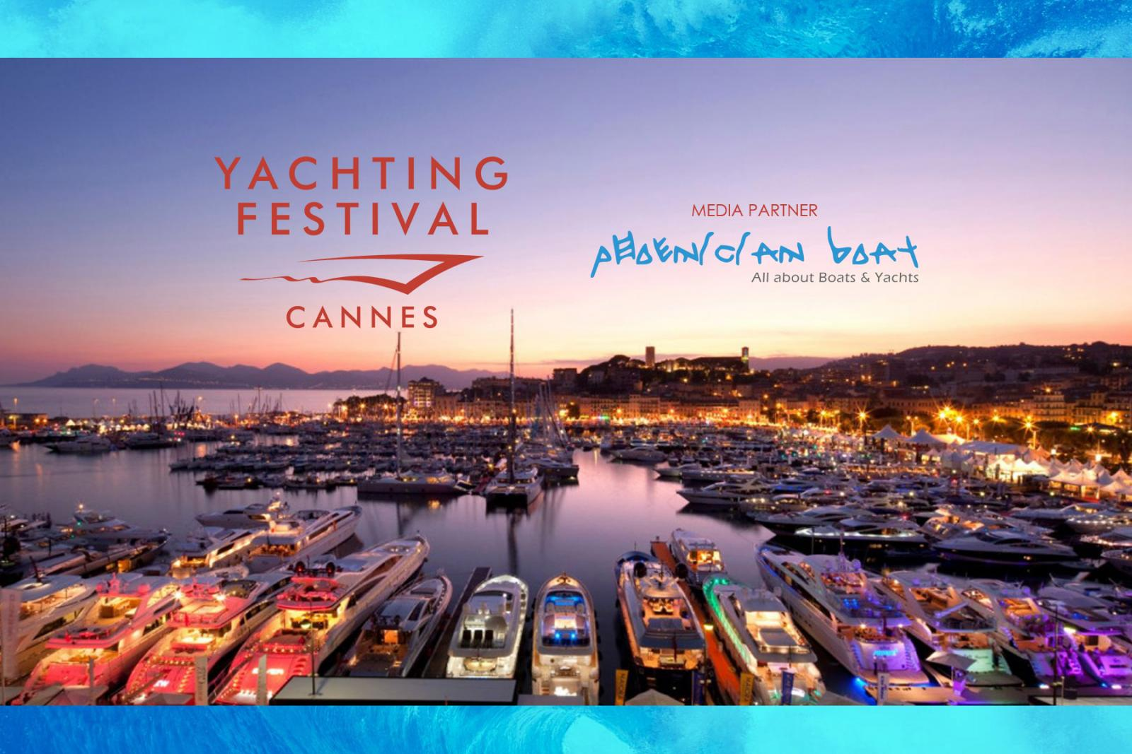 Phoenician Boat is the Media Partner for Cannes Yachting Festival