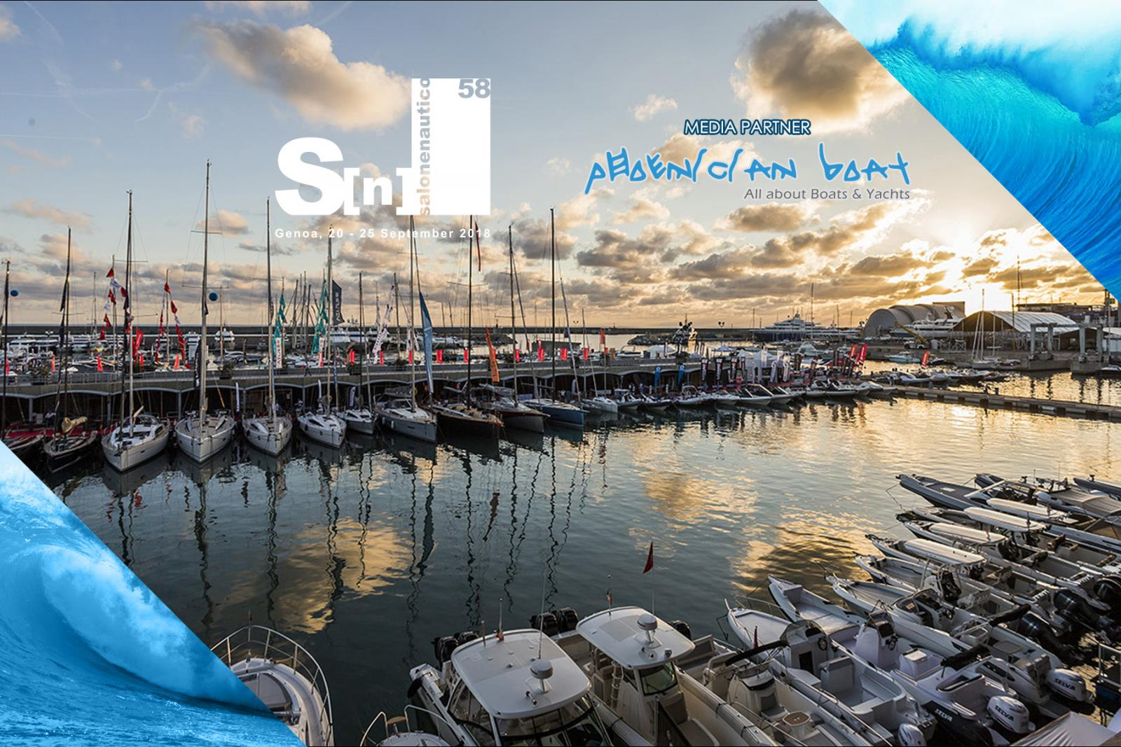 Phoenician Boat is the Media Partner for Genoa Boat Show