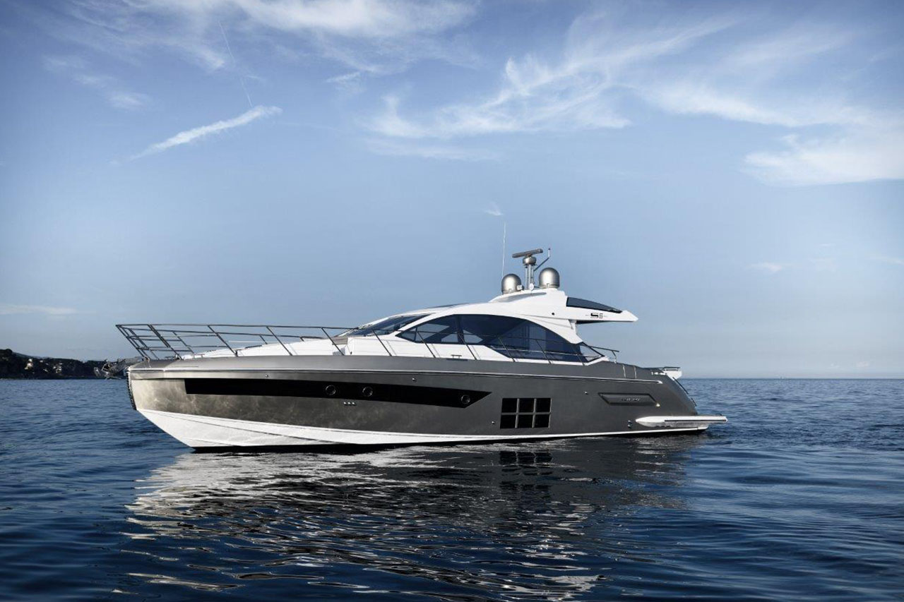Azimut S6 external View
