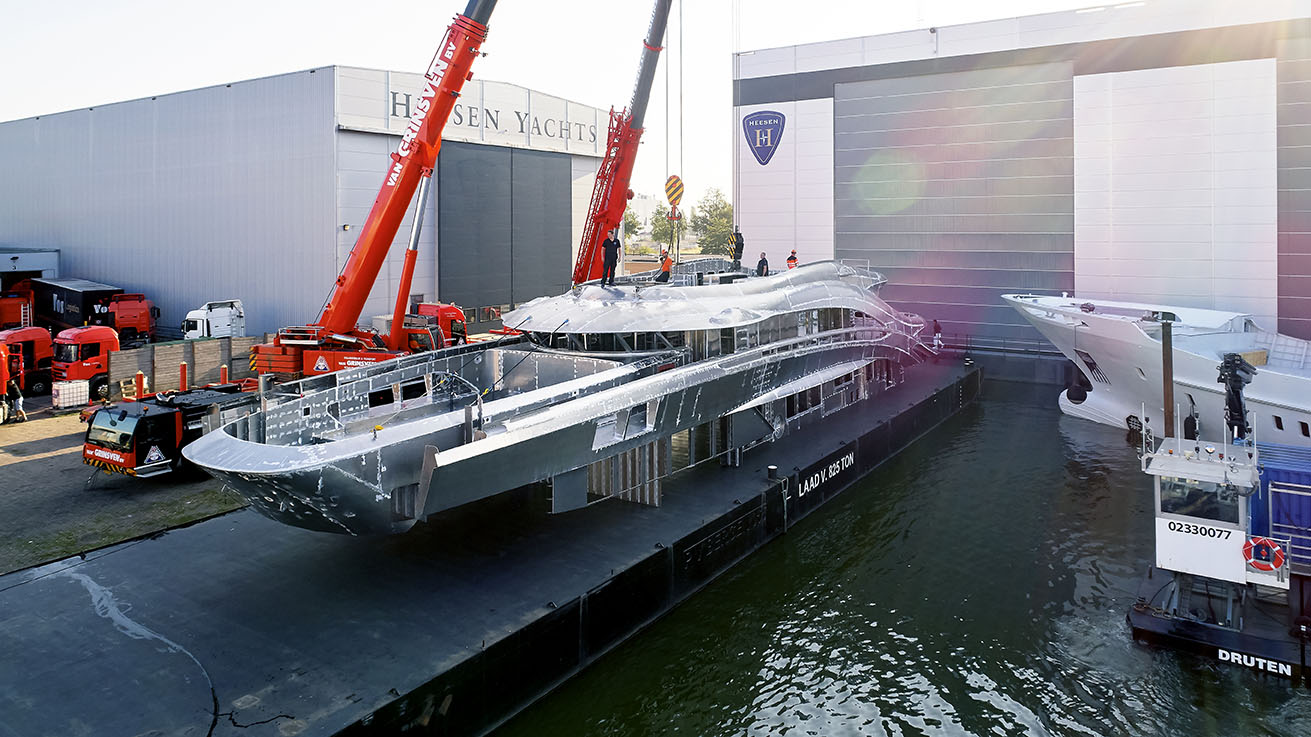 Heesen Yachts -Project Triton 50M